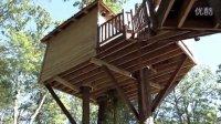 """《走进美国》美国人梦想的""""树屋""""是这样建在树上"""
