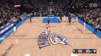 布鲁【NBA2K16】MC生涯模式 湖人大战雷霆 威少杜兰特大爆发(二十八)