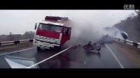 俄罗斯战斗民族车祸视频合集集锦20151109,多看可以减少交通事故发生!