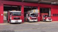 西班牙消防车、救护车出警
