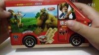 中国食玩小宝分享小黄人大礼包★熊出没★光头强★大头儿子儿童迷你零食果冻水果和减肥美食pk日本食玩系列