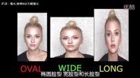 【中文字幕】化妆达人Aly—修容教程系列PART3 脸型分析