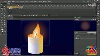 FLASH CC版教程 025 跳动的蜡烛