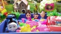 过家家太空沙玩具 游戏托马斯和他的朋友们 小猪一家粉红猪小妹大头儿子小头爸爸