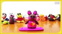 巧克力兔子 花园宝宝 芭比公主 大头儿子 变形金刚 超级飞侠 猪猪侠 亲子游戏 橡皮泥教程 127
