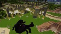 【天骐】我的世界50只霸王龙大战帝王蝎
