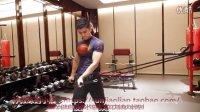 2弹力绳的肩袖练习方法