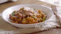 One Pot Pasta-fusilli with tomato sauce