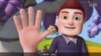 英文儿歌3D 海豹Kid 指偶家族 Finger Family Finger Family Videogyan 3D
