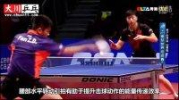 2016贺岁大作:樊振东侧身爆冲技术!惊人的力量【大川乒乓球教学】第18期