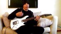 电吉他教学 joe satriani 讲解legato 大师电吉他教学(二)