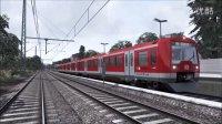 模拟火车 新线路Hamburg-Lübeck试玩