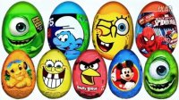 健达奇趣蛋★小黄人奇趣蛋 玩具视频 出奇蛋 玩具蛋 惊喜蛋 拆蛋皮克斯汽车总动员粉红猪小妹猪妈妈