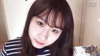 小雪粘yawoongyi-韩国学生妹校园妆容#我是主播#