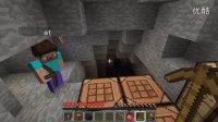 【我的世界Minecraft】小叉X黎猫第一期矿洞的探索!菊花史蒂芬~