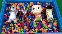玩具SHOW 2016 第109集托马斯奥特曼蘑菇钉洗澡