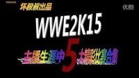 【坏叔叔出品】主播生涯中WWE2K15五大精彩比赛合集