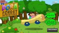 ★爱探险的朵拉历险记★朵拉驾驶小汽车探险