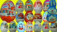 连开30个奇趣蛋!出奇蛋大全! 玩具蛋 惊喜蛋 小猪佩奇 冰雪奇缘 芭比娃娃 米老鼠 玩具总动员