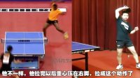 《湿父教球》第9集:大力神阿鲁纳正手爆冲弧圈球技术_乒乓球教学视频教程