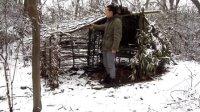 (旧版)野外生存技巧:雪地设置野兔陷阱捕猎陷阱