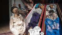 热闻精选:古怪小镇刨自家祖坟当街游行
