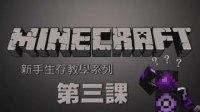【舞秋风】我的世界Minecraft - 新手生存教学系列 第三課 一起打木頭
