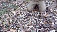 (旧版)野外生存技巧:捕鸟陷阱捕鸟笼野外捕猎