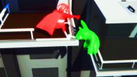 【小熙&屌德斯】基佬大乱斗 熊大和一拳超人比力气!熊出没你们看过没?