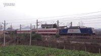 2016.02.24襄渝铁路 成局重段HXD3C 0365牵引K697次汉口至成都