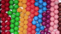 学习不同的颜色 学英语 糖果 婴儿的视频  婴儿玩具 Learn Colors With Gumballs