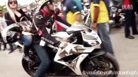 巴西摩托车炸街盛会1-各种大排量,各种大胸妹