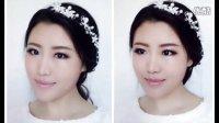 韩式新娘妆教程,清透新娘妆教程