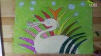 人美版六年级下色彩的联想《春日》临摹示范与二次创作跟李老师学画画