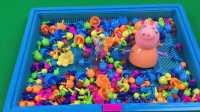 玩具SHOW 2016 第221集佩奇妈妈猪蘑菇钉洗澡