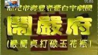 海丰白字戏——闹严府(严兰贞打破玉花瓶) 白字戏 第1张