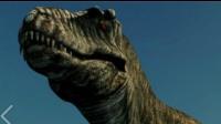 侏罗纪世界霸王龙杀死棘背龙
