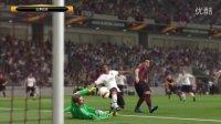 巴打Brother足球解说 PS4实况足球2016 1516赛季欧洲联盟杯八分之一首回合 利物浦vs曼联