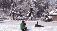 东丰县仙境般的雪后南山