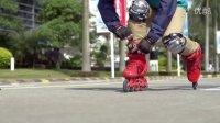 国内知名轮滑品牌_美洲狮S301平花鞋新品视频 新片场传媒出品