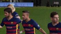 巴打Brother足球解说 1516赛季西班牙足球甲级联赛第30轮 比利亚雷亚尔vs巴塞罗那 PS4实况足球2016