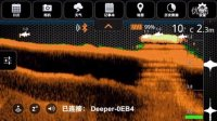 deeper便携式探鱼器的使用教学