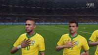 巴打Brother足球解说 世界杯南美区预选赛 巴西vs乌拉圭 PS4实况足球2016