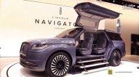 纽约车展实拍 林肯领航员Lincoln Navigator Concept