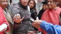 玻利维亚la paz街头卖指甲油演示 2016