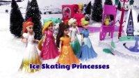 【车车王国]】中文 迪士尼的各位公主们竟然聚集滑冰拆蛋!★这你见过!?★爱莎 安娜 白雪公主 灰姑娘 小猪佩奇 粉红猪小妹 健达奇趣蛋 惊喜蛋 火影忍者 熊出没