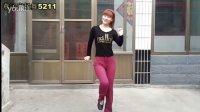 DJ不做你幸福的玫瑰 广场舞 编舞:杨丽萍  32步 简单易学 步子舞 燕子广场舞5211 附背面