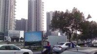 实拍中国浙江省宁波奉化市区风貌