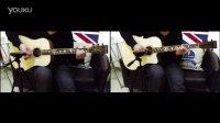 【吉他雨工作室】Mr Big - To Be With You间奏木吉他SOLO教学,双屏演示。