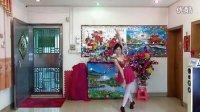 琼花业余舞集原创少女裙粉袜柔慢版自由舞一涛声依旧。